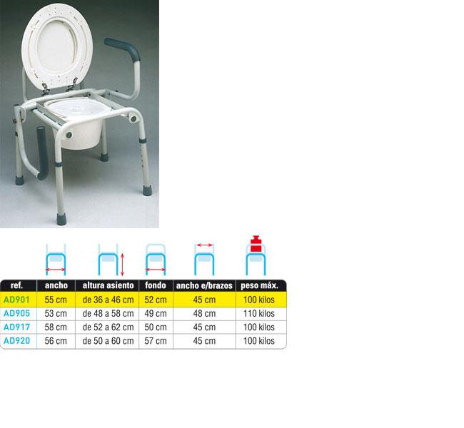 SILLA WC AD901