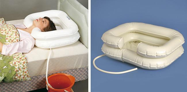 lavacabezas hinchables